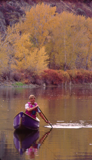 Canoeing In Idaho